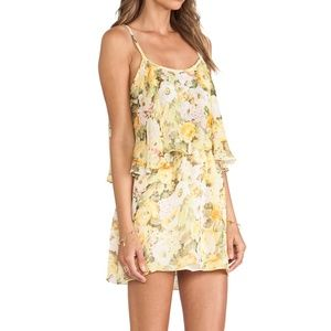 Lovers + Friends | Sunkissed Yellow Floral Dress